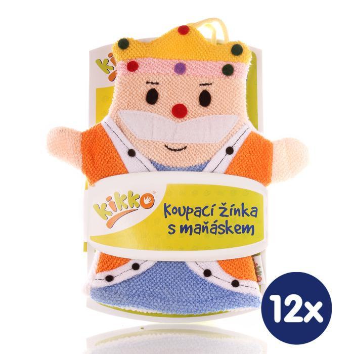 XKKO Cotton Bath Glove - King 12x1ps (Wholesale pack.)