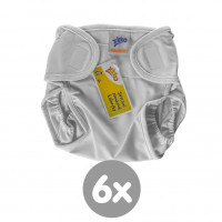 XKKO upper PUL panties -  6x1ps (Wholesale pack.)