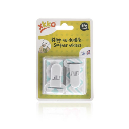 Soother Clips XKKO - Scandinavian Mint MIX