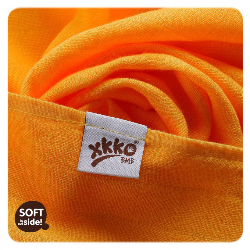 Bamboo muslins XKKO BMB 70x70 - Red Sky MIX 3pcs