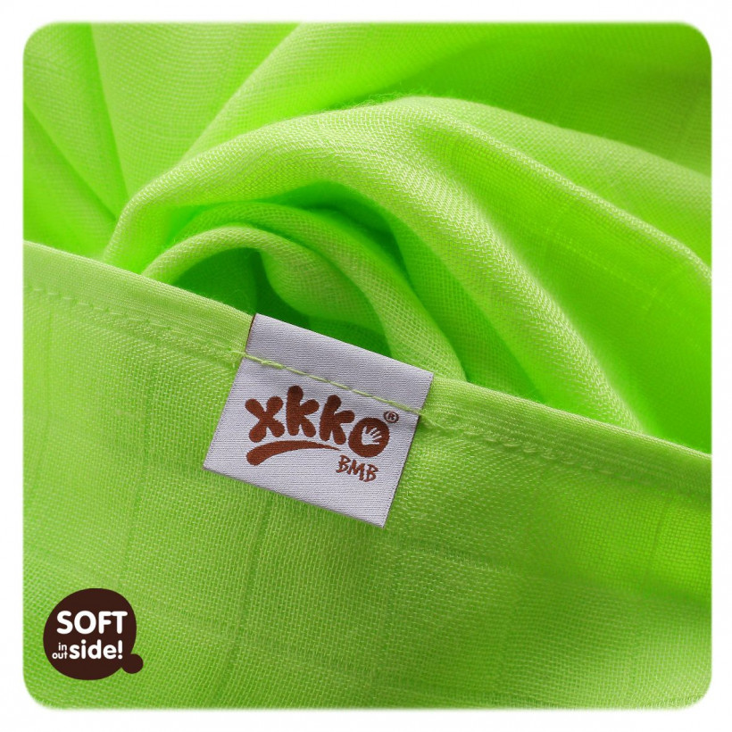 Bamboo muslins XKKO BMB 70x70 - Colours MIX 10x3pcs (Wholesale packaging)