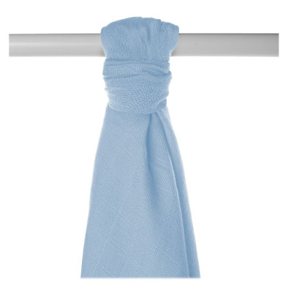 Bamboo muslin towel XKKO BMB 90x100 - Baby Blue