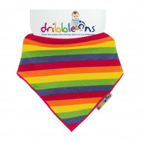 Dribble Ons Rainbow 3x1ps (Wholesale pack.)