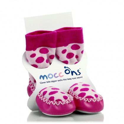 Mocc Ons Pink Dots