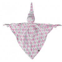 Bamboo cuddly toy XKKO BMB - Baby Pink Cross