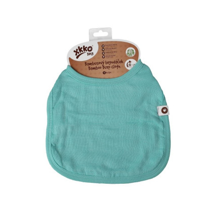 Bamboo Burp Cloth XKKO BMB - Turquoise