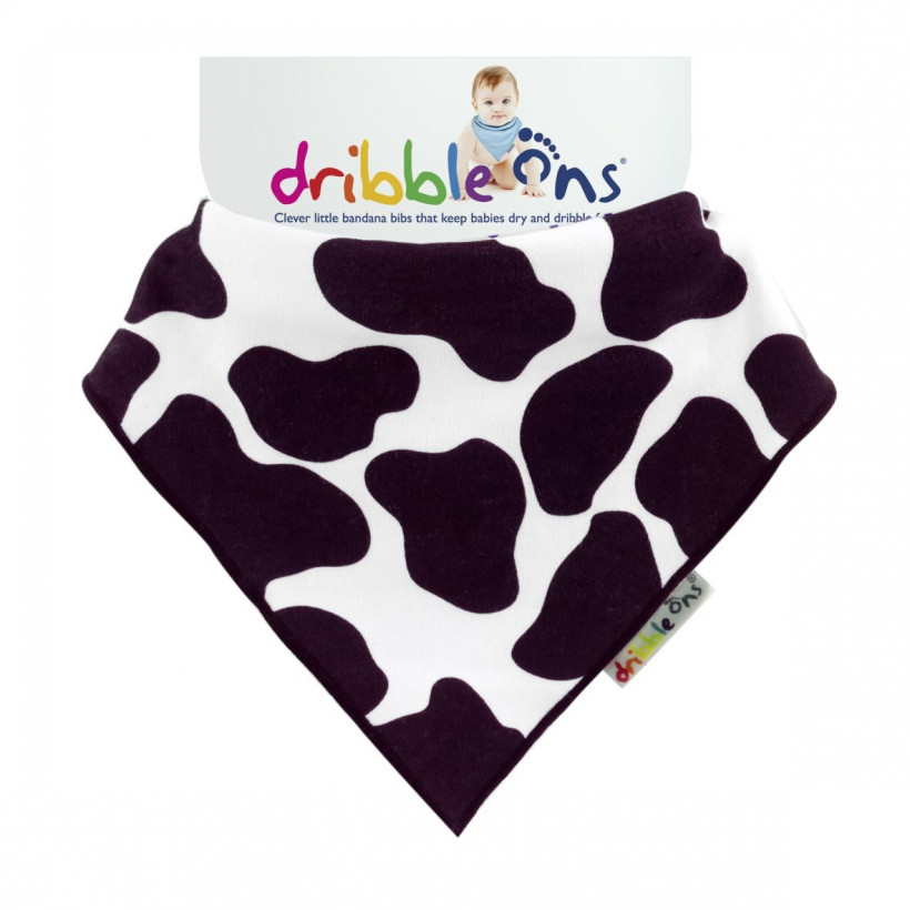 Dribble Ons Funny Cow 3x1ps (Wholesale pack.)