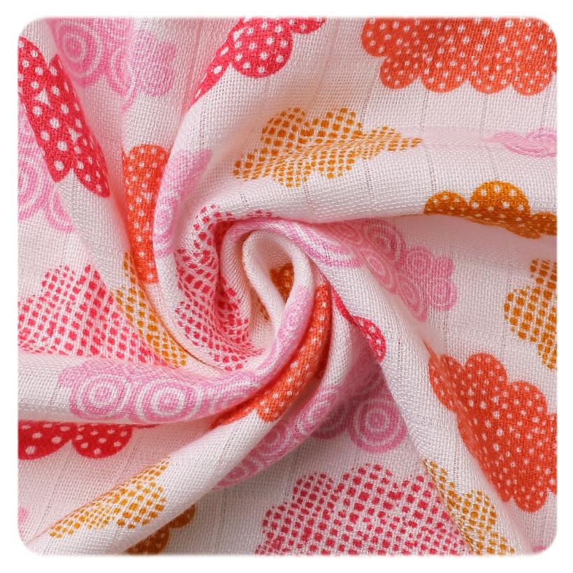 Bamboo muslin towel XKKO BMB 90x100 - Heaven For Girls 10x1pcs (Wholesale packaging)