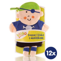 XKKO Cotton Bath Glove - Little Pirate 12x1ps (Wholesale pack.)
